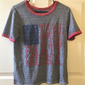 Miley Cyrus Party In The USA Lyric Shirt Sz L